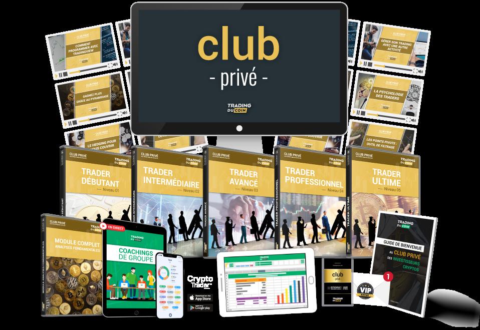Contenu du Club Privé