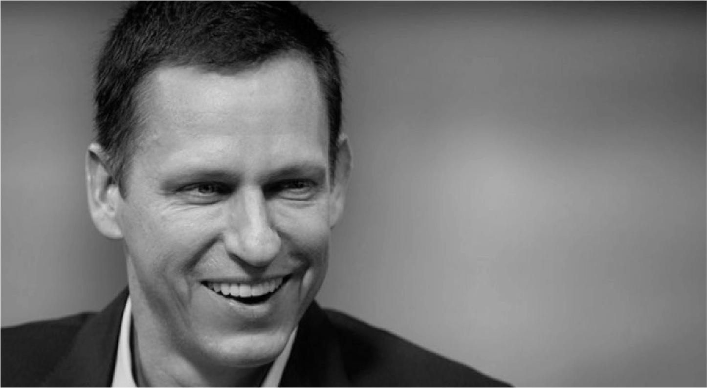 Peter Thiel co-fondateur PayPal
